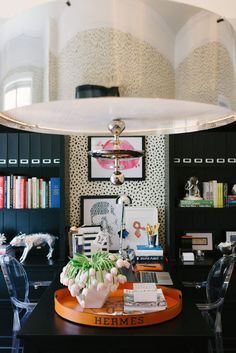 7 Glamorous Home Offices | The Well Appointed House Blog: Living the Well Appointed Life