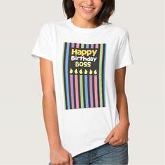 Happy Birthday BOSS T Shirt, Hoodie Sweatshirt