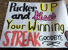 gameday poster ideas for Colts Football - Google Search