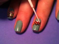 Missoni nails. @Sinead Reilly if we can't get the clothes from Target, at least we can do our nails!