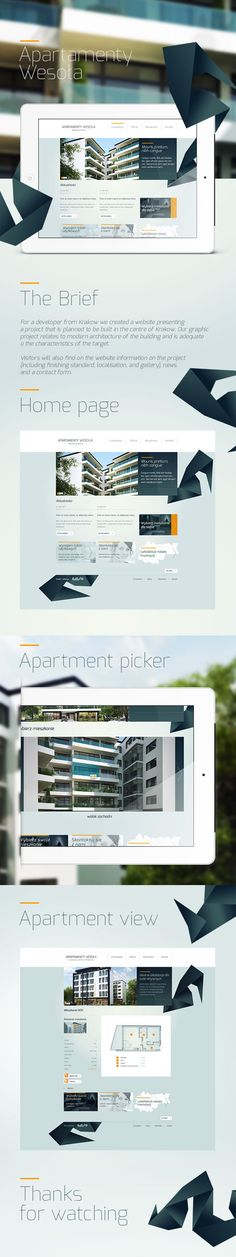 Apartamenty Wesoła by Hello! Studio , via Behance