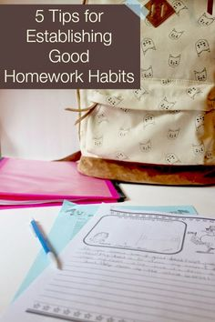 Encourage and teach good study habits Reference com