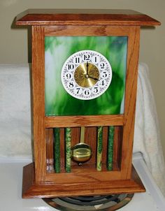 More Glass Clocks - The Dale Maley Family Web Site