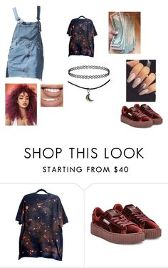 """""""Mood"""" by amariaprice ❤ liked on Polyvore featuring Puma and Bow & Arrow"""