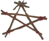 These Cinnamon Christmas Stars take mere minutes to make and will give off a lovely aroma if hung from your xmas tree or if you make a garland from them.  Twigs could also be used as a frugal, rustic alternative (if you can find straight twigs!).  craftbits.com