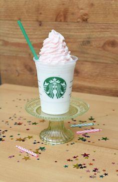 The Starbucks Birthday Cake Frappuccino, duh.