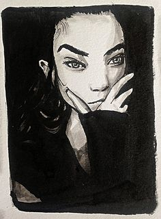 Portrait reference at billy-kidd.com #drawing #penandink #imperfections