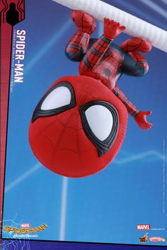 Hot Toys has revealed their Spider-Man: Homecoming Cosbaby figures, including the titular webslinger plus Iron Man and the Vulture! Funko Spiderman, Chibi Spiderman, Chibi Marvel, Chibi Wallpaper, Marvel Wallpaper, Avengers Superheroes, Marvel Heroes, Iron Man Drawing, Marvel Kids