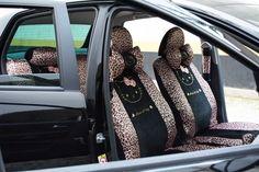 capa para banco de carro ONCINHA - Acessórios para Carro Feminino
