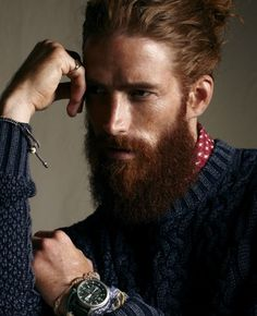 How to grow and groom the perfect beard. #beardlover #beards