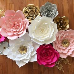 May you wake up with gratitude  #grateful #paperflowers  #paperflowerbackdrop #floresdepapel #handmade #etsy #etsyshop #homedecor #nurserydecor #madewithmichaels