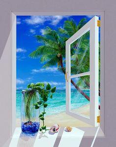 "Lynn Fecteau ""Blue bell"" (Acrylic on canvas)"