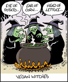 Vegan Witches...     - 'Off the Mark' by Mark Parisi