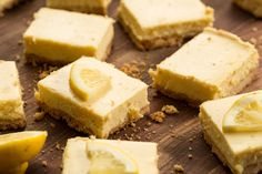 Lemon Cheesecake Bars Lemon bars can only stand to get better with the addition of cheesecake. Get the recipe from Delish. Lemon Cheesecake Bars, Lemon Bars, Cheesecake Recipes, Baileys Cheesecake, Cheesecake Brownies, Mexican Food Recipes, Dessert Recipes, Bar Recipes, Easter Recipes