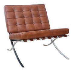 Barcelona Chair Cognac   Ludwig Mies Van Der Rohe | Inrichting | Pinterest  | Kaminzimmer, Ästhetisch Und Sitzen