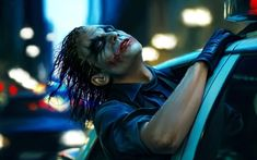 The Joker in a police car - The Dark Knight wallpaper - Movie wallpapers - #48693
