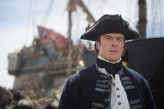 Flint quand'era un tenente di vascello della Marina Britannica, Black Sails, Starz (c)