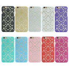 Nuevas adquisiciones de lujo plástico duro de la cubierta case para apple iphone 5 SE 4 4S 5S Damasco Patrón de Flores Vintage de La Contraportada case