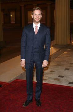 722a07f83cdd Luke Treadaway Wedding Suits