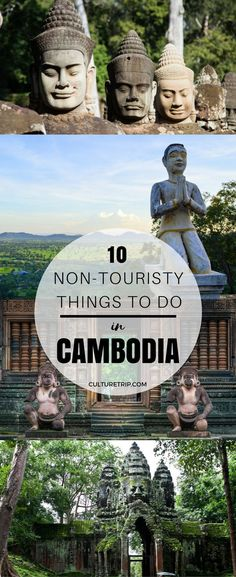 10 Non-Touristy Experiences You Can Only Have in Cambodia|Pinterest: theculturetrip #AsiaTravel