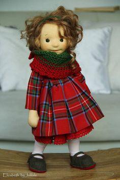 Elizabeth waldorf inspired doll ... Reserved for Bertha