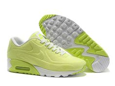 timeless design 32e36 8a16e Big Discount Nike Air Max 90 VT Green Yellow White Womens Sports Shoes  Online, Hot Air Max for Women Online