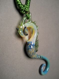 Seahorse Pendant - I love the elegant, smooth flow of the curves