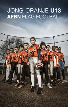 Team U13 Jong Oranje Flag Football EK 2014
