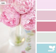 color swatch - i like the second pink