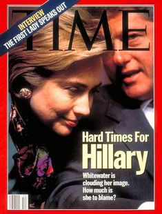 TIME Cover: Hillary Rodham and Bill Clinton march 1994