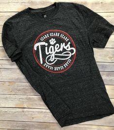 Shirt Ideas, Tigers, Cheer, Mens Tops, T Shirt, Fashion, Moda, Humour, Tee Shirt