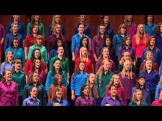 "Mormon Children's Choir:  ""I am a Child of God"""
