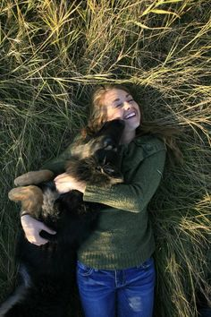 that is Amy and Remi. Did you know that Remi is Amy's dog for real life.