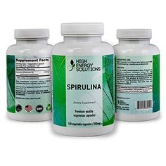 Most everyone knows the extreme benefits of Spirulina. Today, it's popularity is widely used with people adding Spirulina to their foods and beverages, but honestly, I gag on the taste! For this reason, instead of pressed tablets or powder we take pure spirulina and encapsulate it into a v... more details at http://supplements.occupationalhealthandsafetyprofessionals.com/herbal-supplements/spirulina/product-review-for-high-energy-solutions-spirulina-non-gmo-500-mg-120-veggi