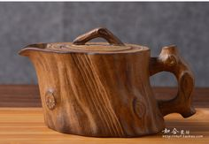 Antique yixing teapot clay handmade personality 190ml teapot Tree Stump ceramic…