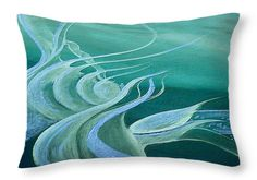 Teal Expression Throw Pillow for Sale by Faye Anastasopoulou 20 x 14 Bedroom Sitting Room, Dark Blue Green, Picture Gifts, Fancy Houses, Pattern Pictures, Cool Themes, Pillow Reviews, Pillow Sale, Basic Colors