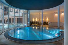 Pool area at the Falkensteiner Hotel Grand MedSpa Marienbad, Czech Republic Medical Spa, Spa Treatments, Hotel Spa, Czech Republic, Modern, Outdoor Decor, Home Decor, Art Nouveau, Haus
