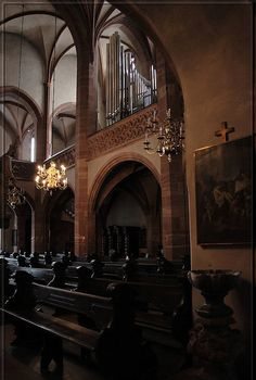 St. Leonhard Catholic Church, Frankfurt, Germany  #frankfurt #church #germany