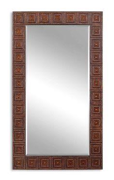 Uttermost Adel Oversized Bronze Mirror 13646