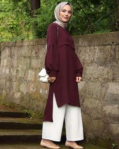 Stunning 2018 Fall Outfit Ideas for Hijab Girls - Girls Hijab Style & Hijab Fashion Ideas Casual Hijab Outfit, Hijab Chic, Hijab Dress, Hijab Fashion Casual, Muslim Dress, Islamic Fashion, Muslim Fashion, Modest Fashion, Mode Outfits