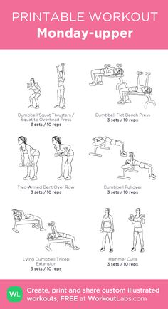 Upper body workout gym - Idea, tricks, as well as manual beneficial to getting the most ideal end result as well as making the max utilization of Weight Loss Drink Upper Body Workout Gym, Upper Body Workout For Women, Band Workout, Barbell Workout For Women, Arm Day Workout, Workout Plans, Free Weight Arm Workout, Beginner Upper Body Workout, Upper Body Strength Workout