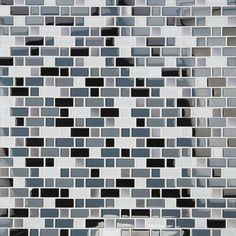 MS International Crystal Cove 12 in. x 12 in. Glass Blend Mesh-Mounted Mosaic Tile-THDWG-GLMT-CCB-8MM - The Home Depot