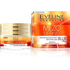 EVELINE COSMETICS MEZO LIFTING MOISTURISING DAY CREAM ANTI-AGE WITH BLUR EFFECT ** To view further, visit now : Creams and Moisturizers