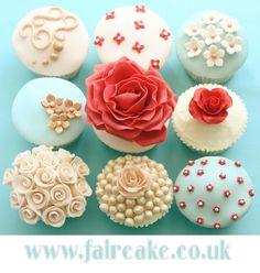 so beautiful #cupcakes #cupcakeideas #cupcakerecipes #food #yummy #sweet #delicious #cupcake