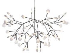 heracleum suspension light possible light for dining room with garland drape? lots of light, easier on the eyes
