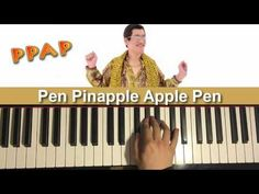 """PPAP - """"Pen Pinapple Apple Pen"""" SONG (Piano Cover by Amosdoll)"""