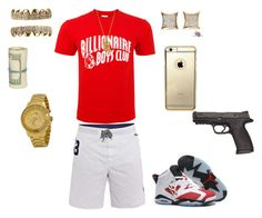 """""""((Mall Flow)) ~King"""" by leonar-287 ❤ liked on Polyvore featuring Billionaire Boys Club, Polo Ralph Lauren and Versus"""
