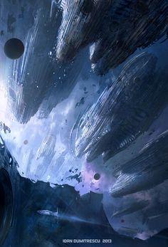 'Derelict Fleet' by Ioan Dumitrescu