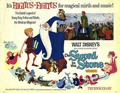 The Sword in the Stone - one of my favorite old school Disney movies.