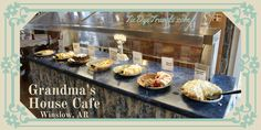 Tie Dye Travels with Kat Robinson: Good Grub at Grandma's House Cafe in Winslow.
